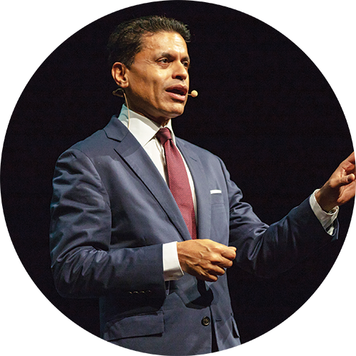 CNN's Fareed Zakaria speaks on campus