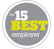No. 15 Best Employer